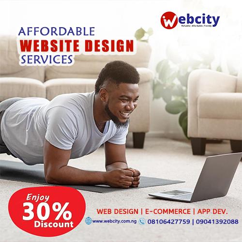 Website Design at 30% Discount